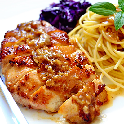 Garlic Chicken Thigh