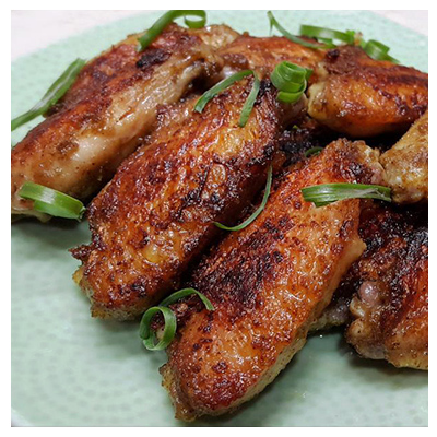 Chicken Wings with Fermented Tarocurd
