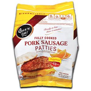 U.S. Pork Sausage Patties