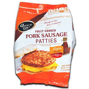 U.S. Pork Sausage Patties (Maple)