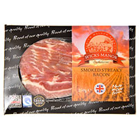 Wicks Manor Smoked Streaky Bacon