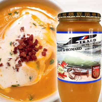 French Perard Lobster Soup (850ml)