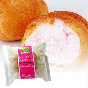 Ice Cream Puff (Strawberry)