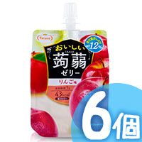 6pcs Apple Konjac Jelly