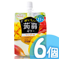 6pcs Mango Konjac Jelly