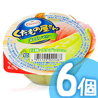 6pcs Melon Peach Jelly