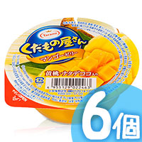 6pcs Mango Peach Jelly