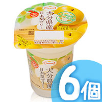 6pcs Oita Pear Jelly