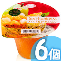 6pcs Pear Melon Jelly