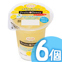 6pcs Grapefruit Yogurt Pudding
