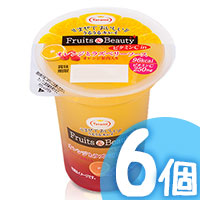 6pcs Orange Raspberry Pudding