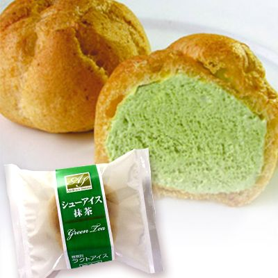 Ice Cream Puff (Green Tea)