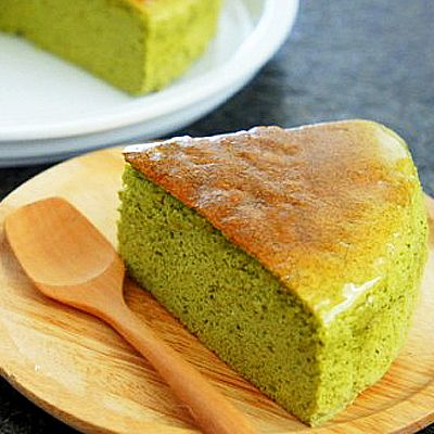 Japanese Cheese Cake Green Tea Flavor (Whole)