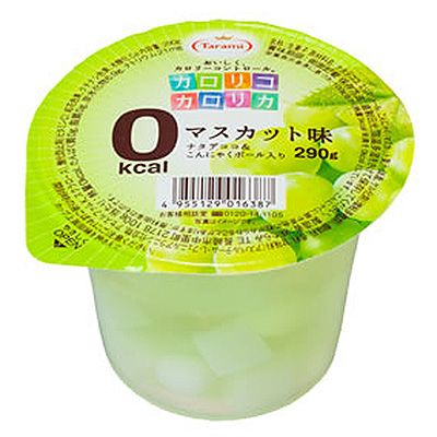 Muscat Grapes Jelly (0 kcal)