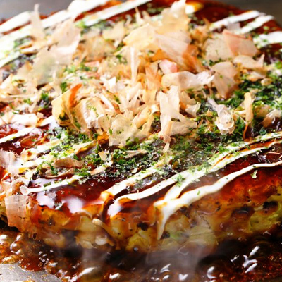Cheese Okonomiyaki