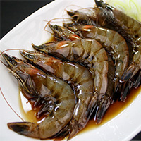 Frozen Prawn with Soy Sauce