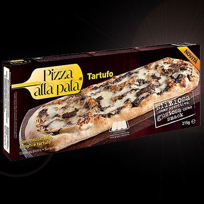 Italy Frozen Black Tuffle Long Pizza-Svila