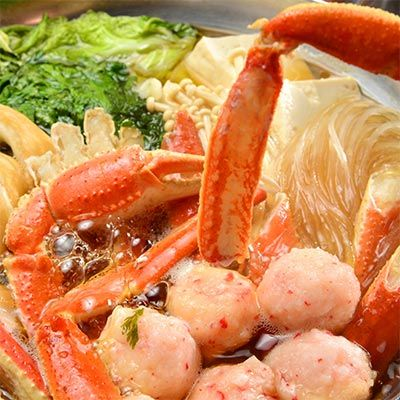 Japan Sea Tangle Crab Soup