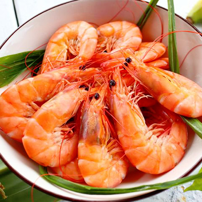Spain Prawn Cooked