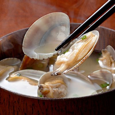 Hamaguri Clam Cooked