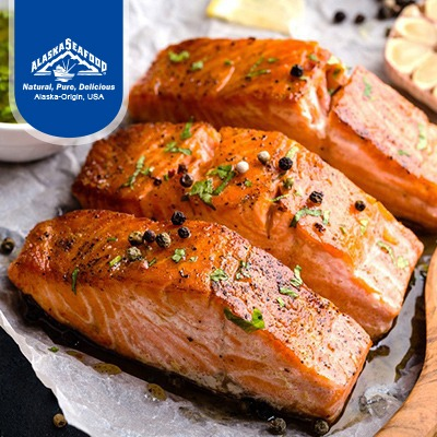 Alaska Salmon Fillets